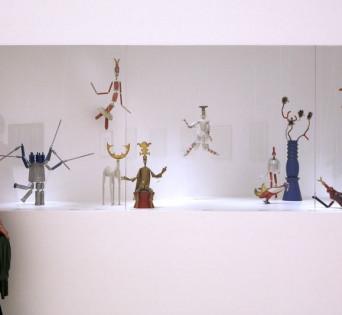 """MALAGA, Octubre 2009-Exposición """"Sophie Taeuber-Arp. Caminos de vanguardia"""". Museo Picasso de Málaga. Del 19 de Octubre al 24 Enero 2010. © MPM/jesusdominguez.com"""