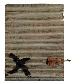 tapies_porta_metalica_y_violin