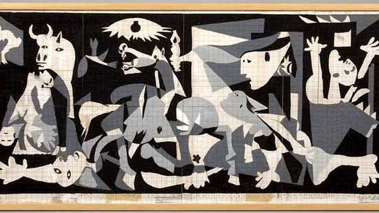 study_for_picassos_guernica_in_the_style_of_jackson_pollock