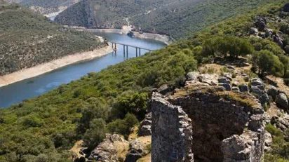 Tajo river monfragüe