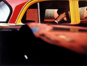 Saul Leiter, Taxi, 1957. ©Saul Leiter Foundation, Courtesy Gallery FIFTY ONE.