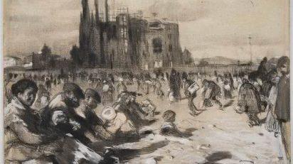 Joaquim_Mir_Esbs_La_catedral_dels_pobres_c.1898__Dimensions_48_per_62_cm