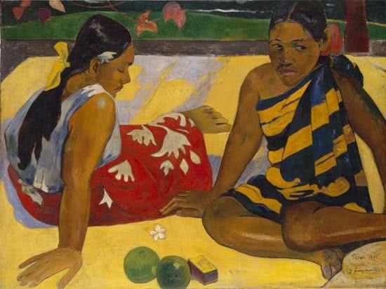 Paul Gauguin. Nafea faa ipoipo.