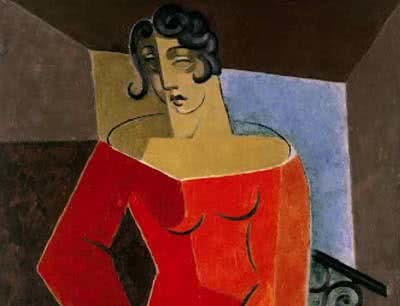 Juan Gris, La Chanteuse, 1926. Óleo sobre lienzo, 116 x 88,4 cm