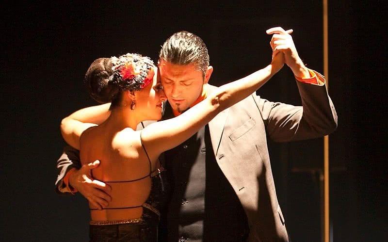 El tango en un burdel de Buenos Aires