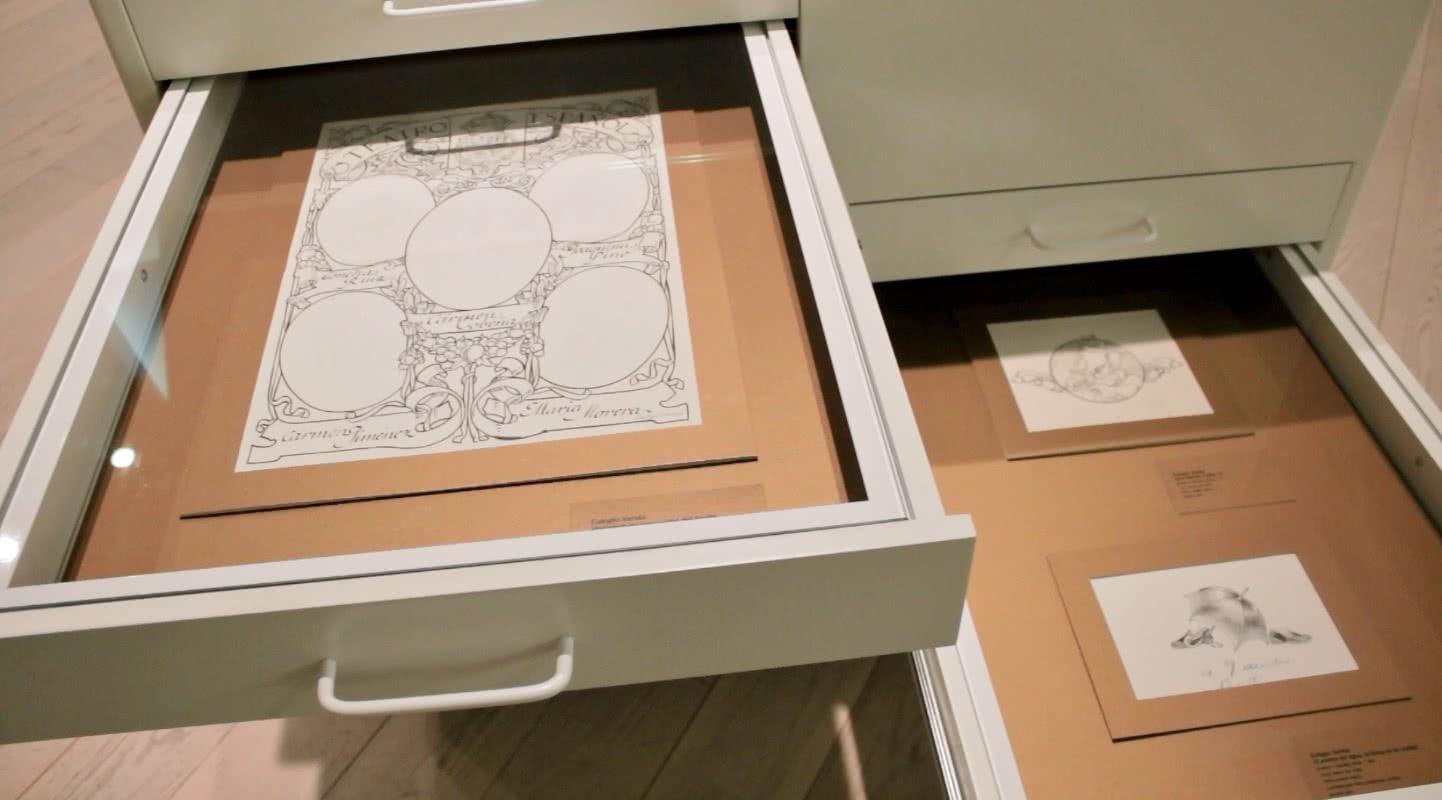 Eulogio Varela. Modernismo y modernidad. Museo ABC. Foto: Sonia Aguilera.
