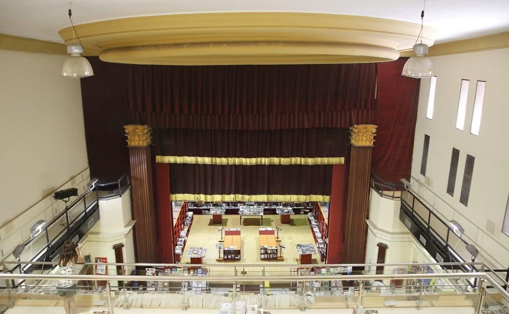 Librería Beta. Teatro Imperial. Foto: Manoli Rizo.