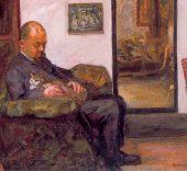 Pierre Bonnard, Retrato de Ambroise Vollard, 1905. Kunsthaus, Zürich