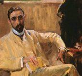 Juan Ramón Jiménez por Sorolla