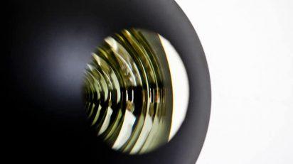 Glass stacks, 2014 (detalle). 11 esferas de cristal, ø 20 cm cada una