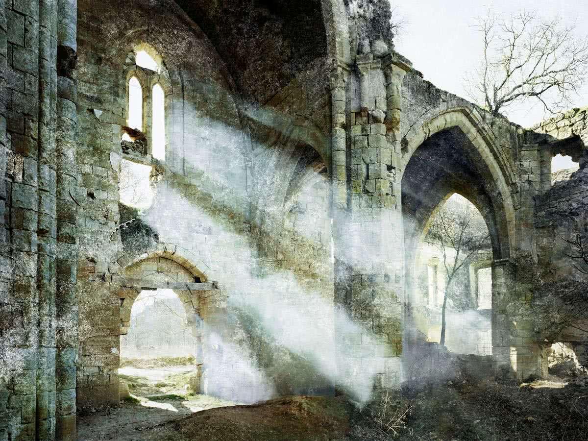 Fernando Manso. Monasterio de Bonaval. 2002. Galería Caylus.