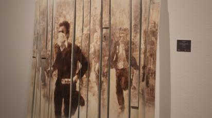 Graciela Sacco. Cuerpo a cuerpo. Entre tiempos... La Colección Jozami en el Museo Lázaro Galdiano. Colección Jozami. Foto: Sonia Aguilera.
