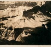 Alvin Langdon Coburn. The Amphitheatre, Grand Canyon, 1912. Cortesía George Eastman House.