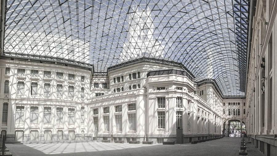 Galería de Cristal de CentroCentro Cibeles.