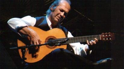 Paco de Lucía. Foto: página oficial.