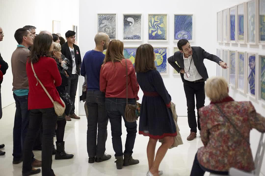 Hilma af Klint. Museo Picasso Málaga.