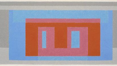 'Día luminoso', 1947-52. Josef Albers.
