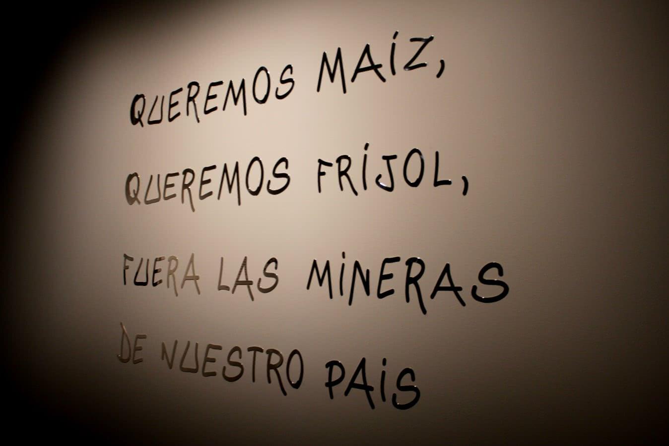 Edgardo Aragón. Desde Oaxaca. Tabacalera. Espacio de Promoción del Arte. Foto: Luis Martín.