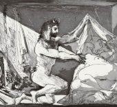 Pablo Picasso. Fauno descubriendo a una mujer, 1936.