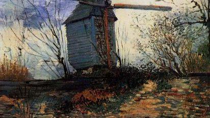 Vincent van Gogh. Moulin de la Galette. Óleo sobre lienzo. 1887.