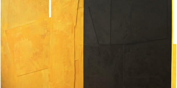 2003. Jerusalén. Técnica mixta sobre madera. 244 x 440 cm.