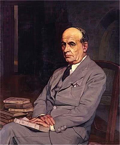 José Ortega y Gasset. Óleo de Ignacio Zuloaga.