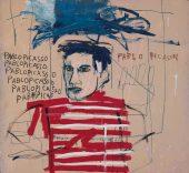 Jean-Michel Basquiat. Sin título (Pablo Picasso), 1984. Colección particular, Italia © 2013-2014 Antonio Maniscalco, Milán © The estate of Jean-Michel Basquiat / VEGAP.