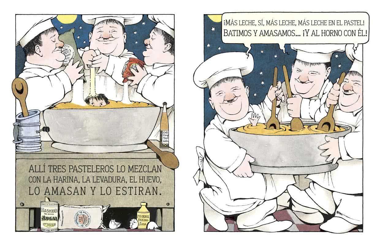 La cocina de noche', de Maurice Sendak.