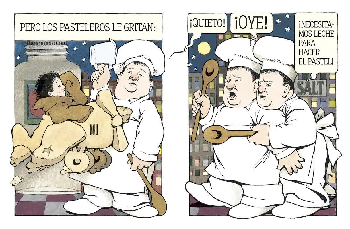 'La cocina de noche', de Maurice Sendak.