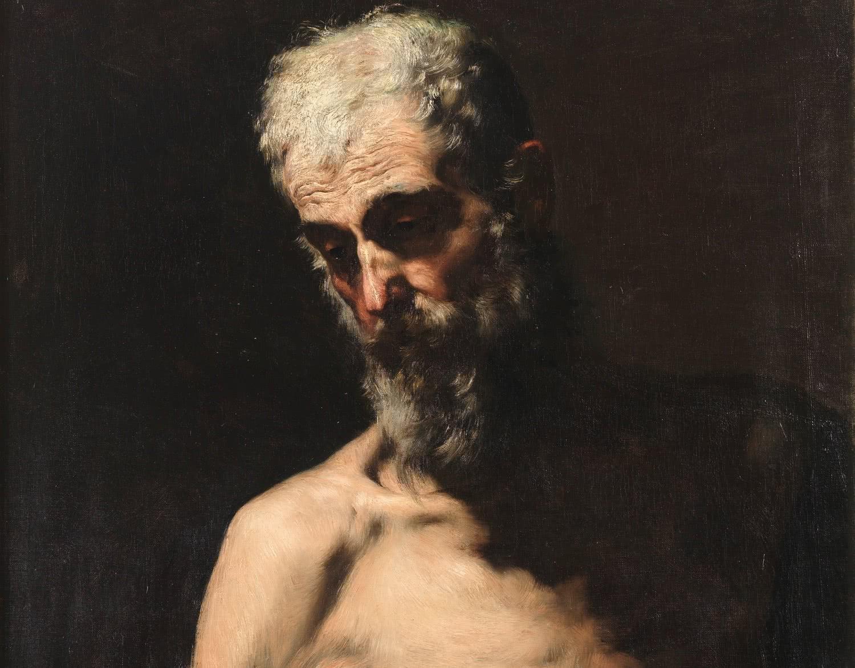 Mariano Fortuny. San Andrés. 1867-1868. Museo Nacional del Prado.