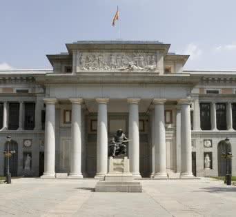 Museo Nacional del Prado Fachada Velazquez