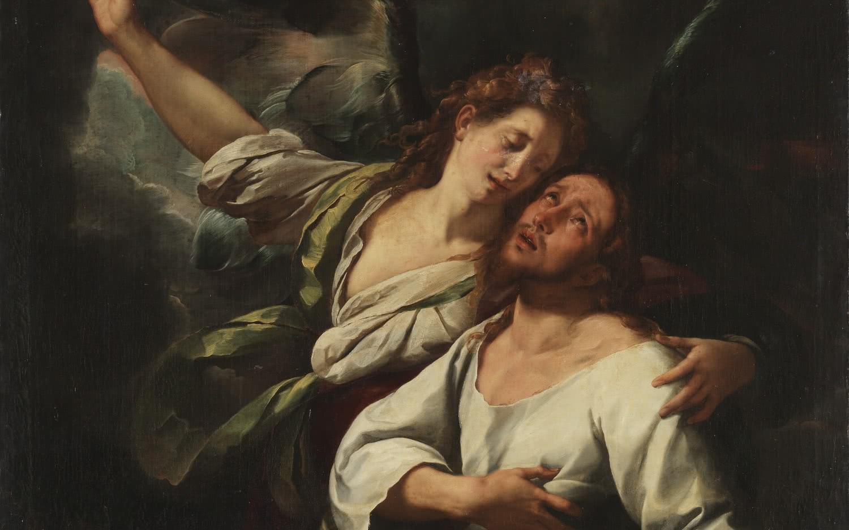 Giulio Cesare Procaccini. Oración en el huerto (detalle). Óleo sobre lienzo, 219x147cm. Madrid, Museo Nacional del Prado
