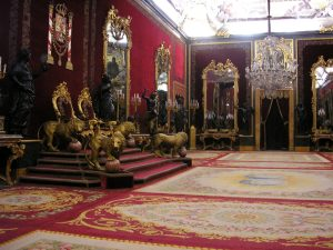 salon del trono palacio real de madrid