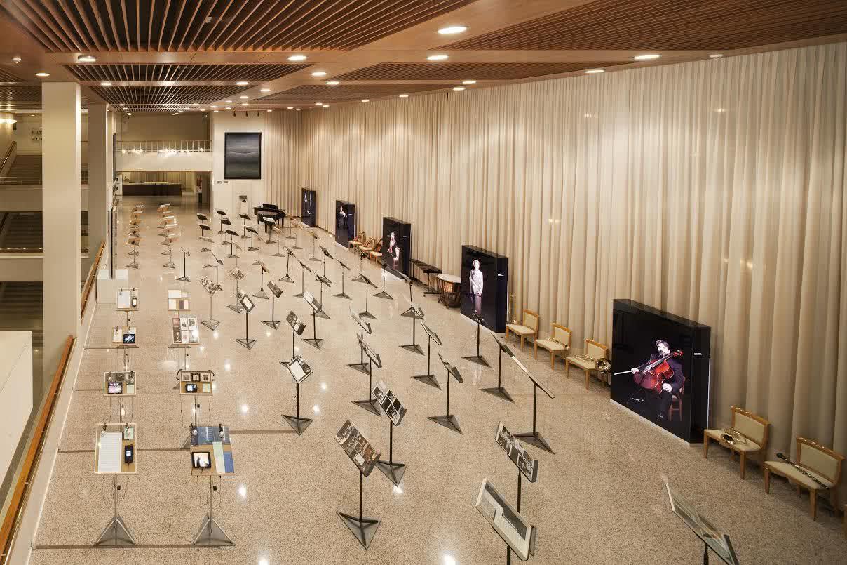 Auditorio Nacional de Música de Madrid. Exposición 'Auditorio (1988-1013)