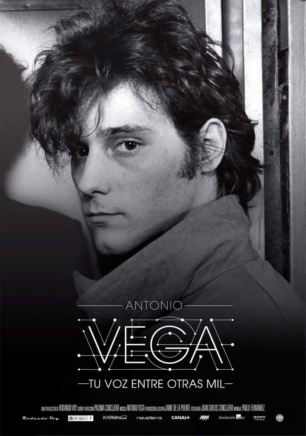 Antonio Vega Tu voz entre otras mil Cartel