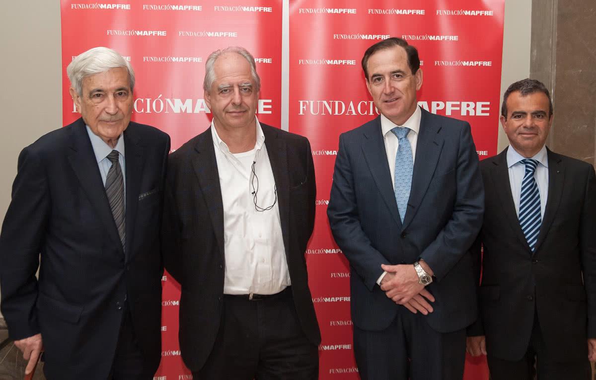 Antonio Bonet, William Kentridge, Antonio Huertas y Pablo Jiménez Burillo.