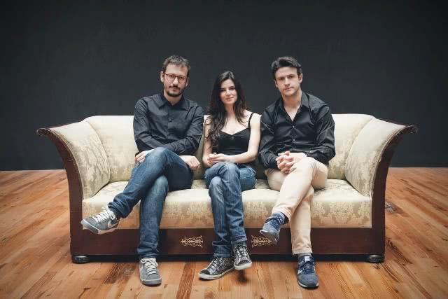 David Serrano, Clara Lago y Diego del Pino. Foto: Luis Alda.