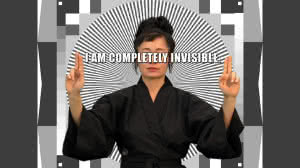 HITO STEYERL. How Not To Be Seen: A Fucking Didactic Educational [Cómo no ser visto: Un educativo jodidamente didáctico], 2013. Vídeo, color y sonido, 14'.