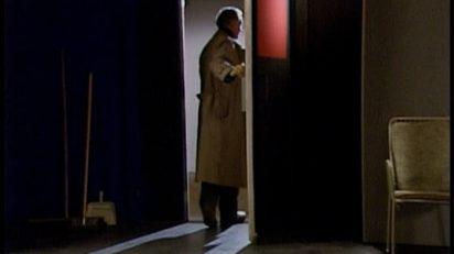 Michael Snow. See You Later / Au revoir [Hasta luego], 1990. Videoproyección. Color, sonido.