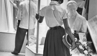 Camagüey, Cuba, 1963 Gelatina de plata, copia de época. Colección Fundación Henri Cartier-Bresson, París. © Henri Cartier-Bresson/Magnum Photos, cortesía Fundación Henri Cartier-Bresson.