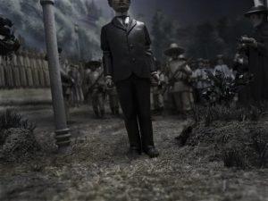Joan Fontcuberta. Ejecución de José Rizal. 2005.