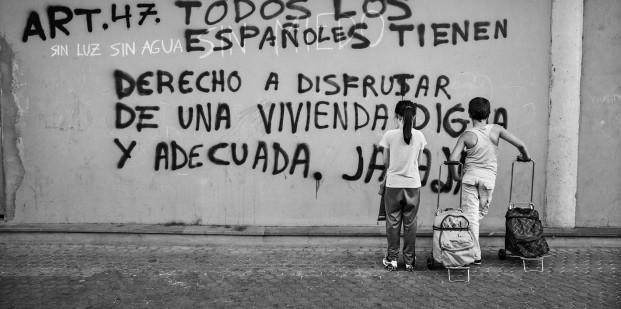 Aitor Lara. Pobreza infantil en España