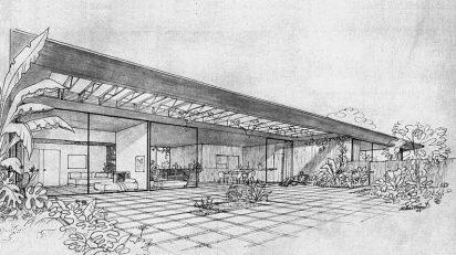 Arts & Architecture, February 1945, Case Study House #1 © © 2008/2014 David Travers.