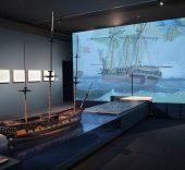 El último viaje de la Fragata Mercedes. Un tesoro cultural recuperado. Foto Luis Martín