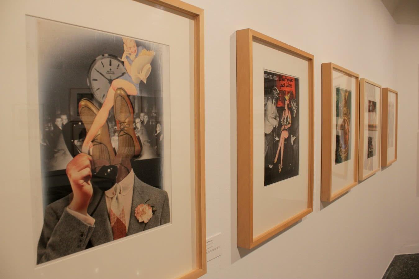 Josep Renau. El estilo de vida americano. Círculo de Bellas Artes de Madrid. Foto: Luis Martín.
