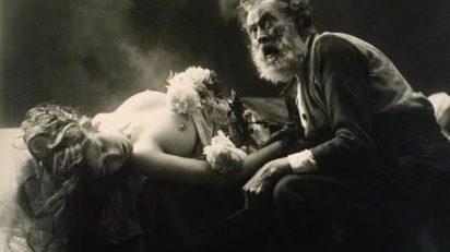 Joan Vilatobà. En quin punt del cel et trobaré?, circa 1903-1904. © Hereus de Joan Vilatobà. Cortesía Galería A34.