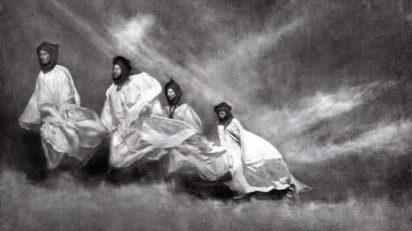 Ortiz Echagüe. Siroco en el Sáhara. 1965