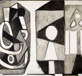 Pablo Picasso. El taller de La Californie, 1956