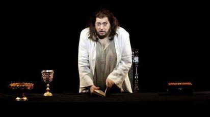 Plácido Domingo en 'Thaïs'. Foto: EFE.