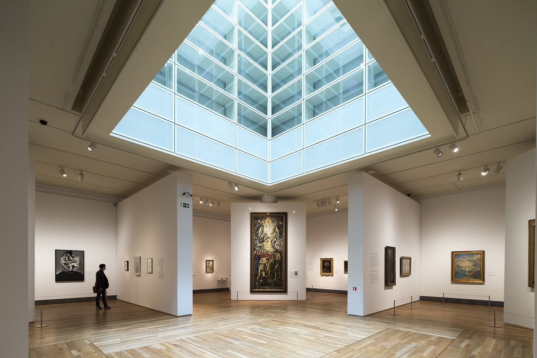 Vista de la exposición 'El Greco y la pintura moderna'.
